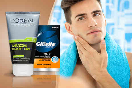 Look N Style - Two piece mens LOreal skincare set - Save 75%