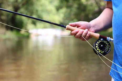 Tweed Guide - Half Day of Trout Fishing in the River Tweed - Save 57%