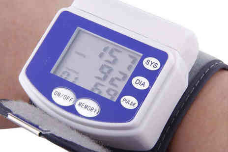 Blood Pressure Monitor - Wrist Blood Pressure Monitor, Delivery Included - Save 51%