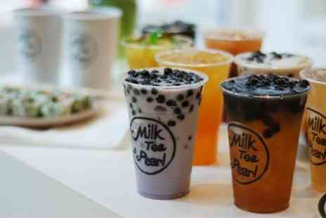 Milk Tea & Pearl - Two Bubble Tea  - Save 43%