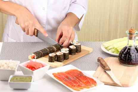 London Cookery School - Sushi Cooking Class With Bubbly For One  - Save 64%