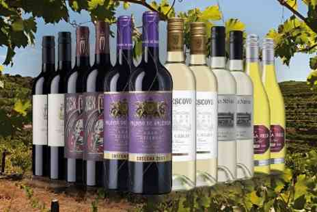 Laithwaites Wine Merchants - 12 Bottle Case of Red, White or a Mix of Wines, Plus Wine Plan Membership - Save 53%