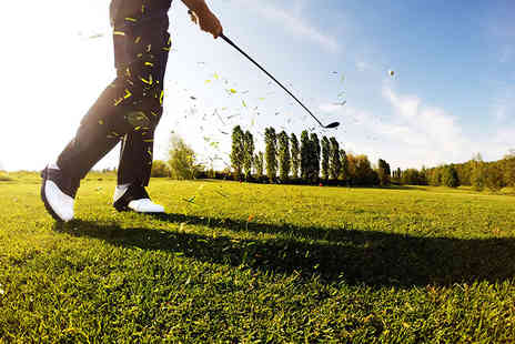 Mansfield Golf Club - 18 hole round of golf for two including a driving range session and a coffee each - Save 59%