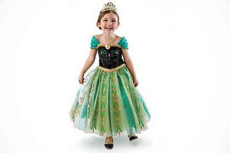 athenae store - Princess Dress in Black and Teal - Save 0%