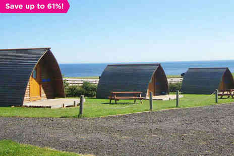 Pot a Doodle Do - A Cosy Wooden Wigwam on the Northumberland Coast - Save 61%