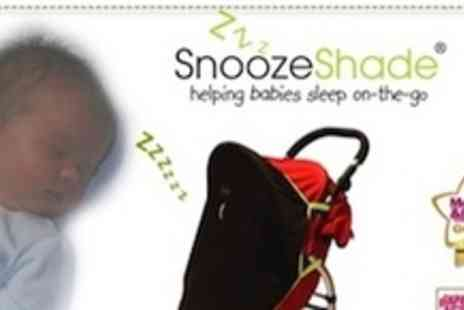 SnoozeShade - Award winning SnoozeShade Original with blackout cover for all single strollers - Save 50%