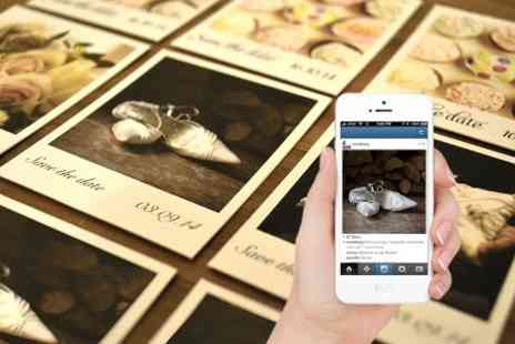 Instajunction - 10 Personalised Instagram Polaroid Style - Save 40%