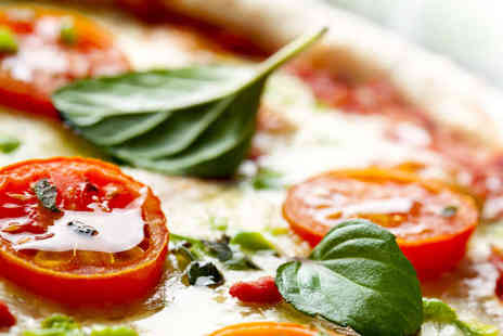 Veritas - Pizza, Pasta, or Risotto with a Glass of Prosecco Each for Two  - Save 63%
