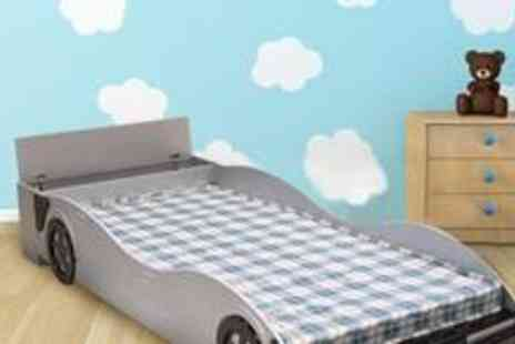 Heartlands Furniture - Meeki Kids Racing Car Bed worth £225 - Save 56%