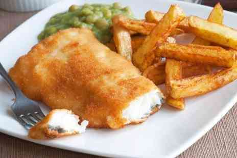 Sole Seafood - Fish and Chips For Two  - Save 50%
