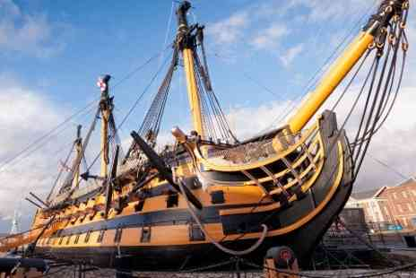 Portsmouth Historic Dockyard - Entry  to Portsmouth Historic Dockyard  for two - Save 48%