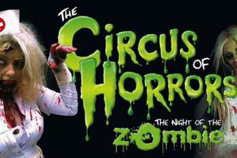 The Circus of Horrors  - Entry to The Circus of Horrors Presents The Night of the Zombie With Brochure  - Save 56%