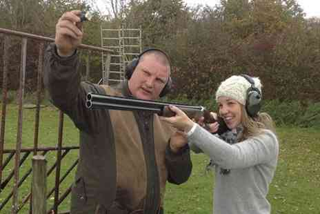 Albert Cochrane Shooting School - Clay Pigeon Shooting For Two - Save 0%