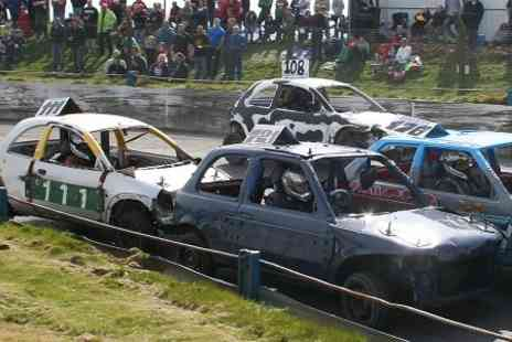 Mendips Raceway - Stock Car, Banger and Hot Rod Race Day - Save 50%