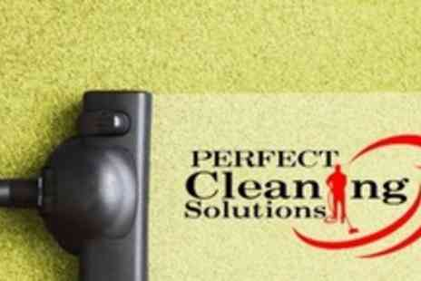 Perfect Cleaning Solutions - Carpet Cleaning For Two Rooms - Save 66%