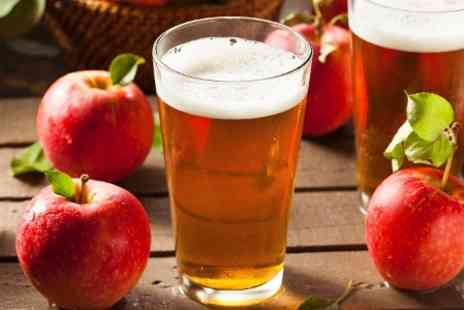 The Essex Cider Shop - The Essex Cider Shop Draught Tasting and Four Pints - Save 31%