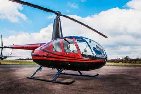 Flying Pig Helicopters - Mothers Day Helicopter Experience For One - Save 0%
