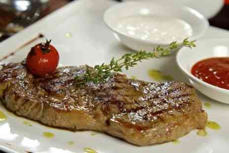 The Snail at Stone Street - Two Course Steak Meal With Cocktails For Two  - Save 63%