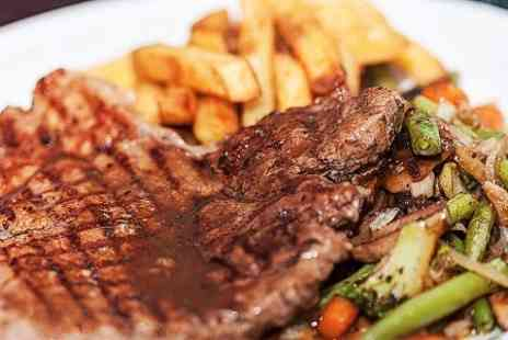 The Old Steps Bar - Two Course Steak Meal For Two - Save 62%