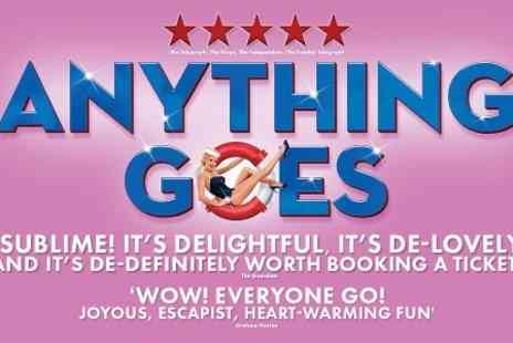 Curated - Ticket to Anything Goes   - Save 57%