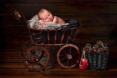 A.S Photography Studios - Newborn Baby Photoshoot With Prints and Digital Image  - Save 96%