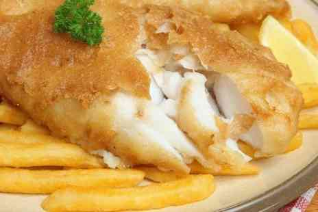 Pantrinis  - Fish and Chips With Coffee For Two  - Save 44%