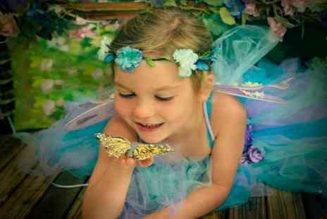 Fairy Dust Pictures - Childrens Fairy Photoshoot With Print   - Save 70%
