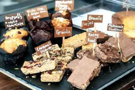Kafe Bloc - Cake and Coffee For Two  - Save 37%