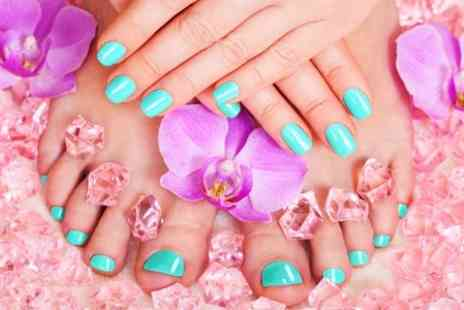 Head 2 Toe Hair and Beauty - Gel Manicure, Pedicure or Both  - Save 65%