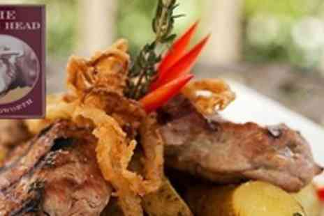The Bulls Head - Three Course Meal For Two With Coffee and After Dinner Liquors  - Save 60%