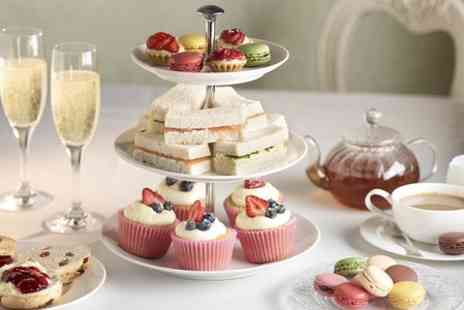 The Blue River Cafe - Afternoon Tea With Prosecco For Two  - Save 62%