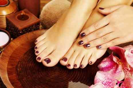 Beau Boutique - Shellac Mani or Pedi or Both  - Save 67%