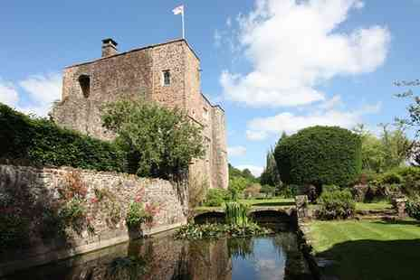 Bickleigh Castle - Two nights stay With breakfast, castle tour & local biscuits - Save 58%