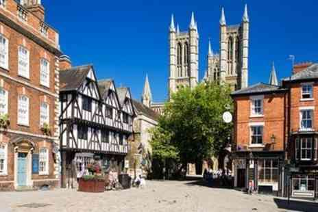 The Lincoln Hotel -  Cathedral view stay with meals and fizz - Save 46%
