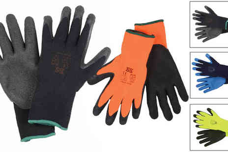 xsstock online - 12 Pairs of Protective Thermal DIY & Gardening Gloves - Save 47%