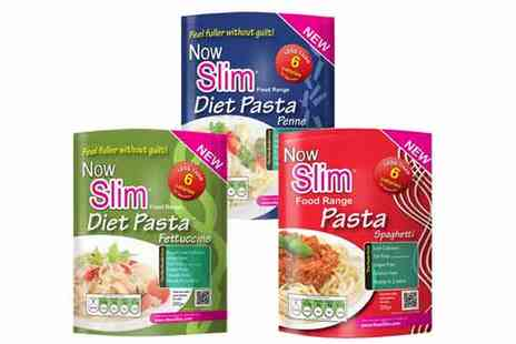 Now Slim - Now Slim Diet Pasta for 12 Packet Assortment - Save 64%