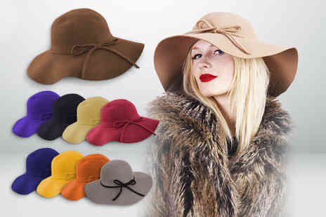 Maz Accessories  - Floppy hat in a choice of 9 colours - Save 62%