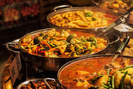 Ashoka - All you can eat Indian buffet for Two - Save 58%