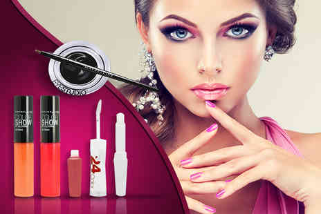 Look N Style  - Four piece Maybelline set - Save 80%