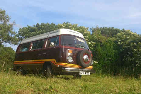 Wye Aye Van - Three night long weekend VW campervan hire  - Save 47%