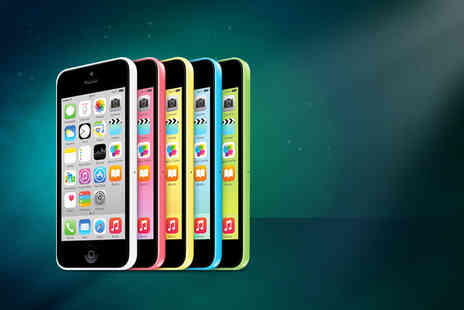 Click Wrap - Unlocked Grade B refurbished iPhone 5c 16GB valid in five colours - Save 37%
