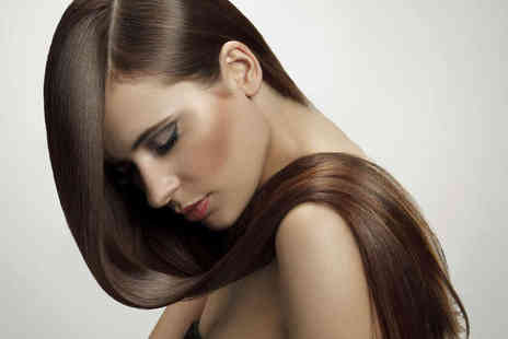 Cherry Red - Haircut, Conditioning Treatment, and Blow Dry  or Semi Head of Highlights  - Save 59%