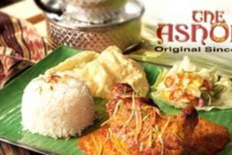 The Ashoka - Indian Takeaway For Two - Save 65%