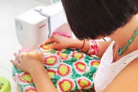 Sew In Brighton - Sewing and Cushion Making Workshop  - Save 60%