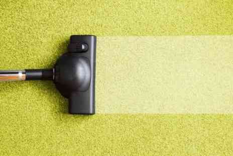 Fine Carpet Care -  Two Downstairs Rooms, Stairs and Hallway Carpet Clean - Save 70%
