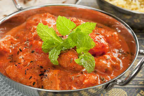 The White Horse Inn - Curry and rice for two - Save 39%