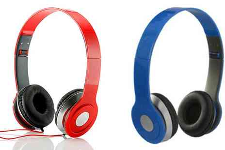 Loco Gadgets - Over Ear Headphones in 3 Colours - Save 87%