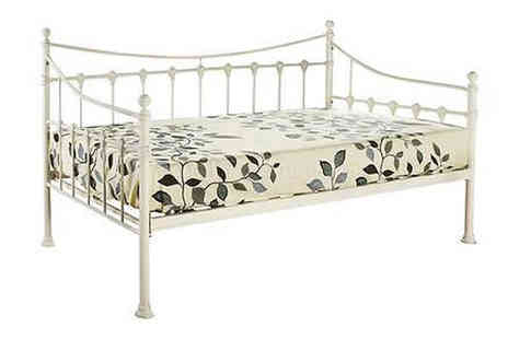 Sonic Online  - Chantilly 3ft Single Metal Day Bed - Save 50%