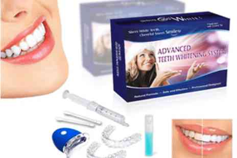 Athena Fashion - Peroxide free teeth whitening kit - Save 85%