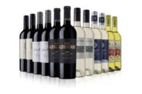 Sunday Times Wine Club - 12 bottle case of mixed wine - Save 54%